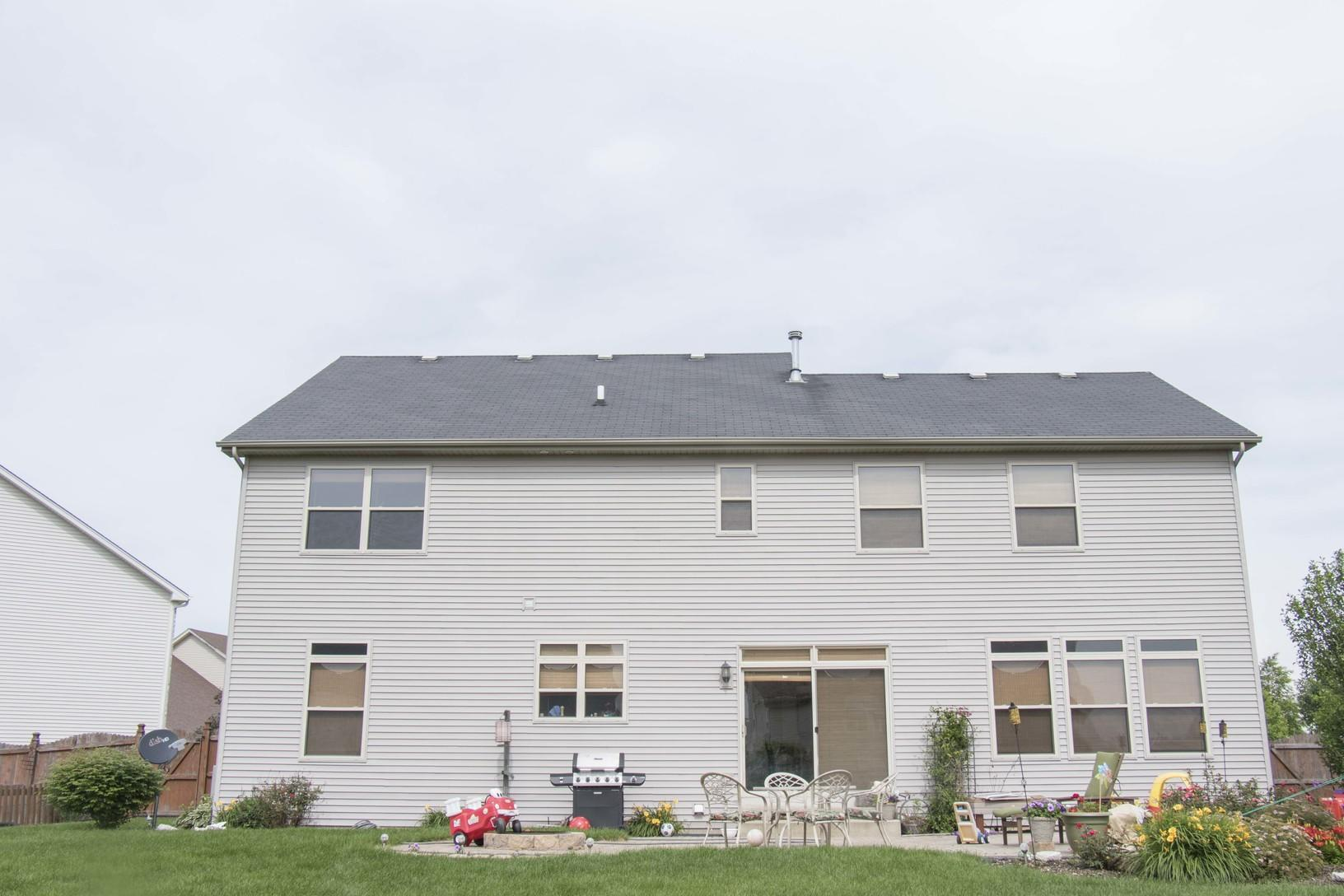 Channahon Roof Replacement & Gutter Installation - Before Photo