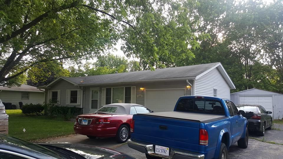 Roof Replacement in Machesney Park, IL - Before Photo