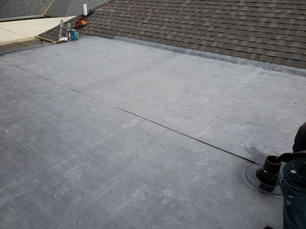 Flat Roof Replacement in Rockford, IL - After Photo