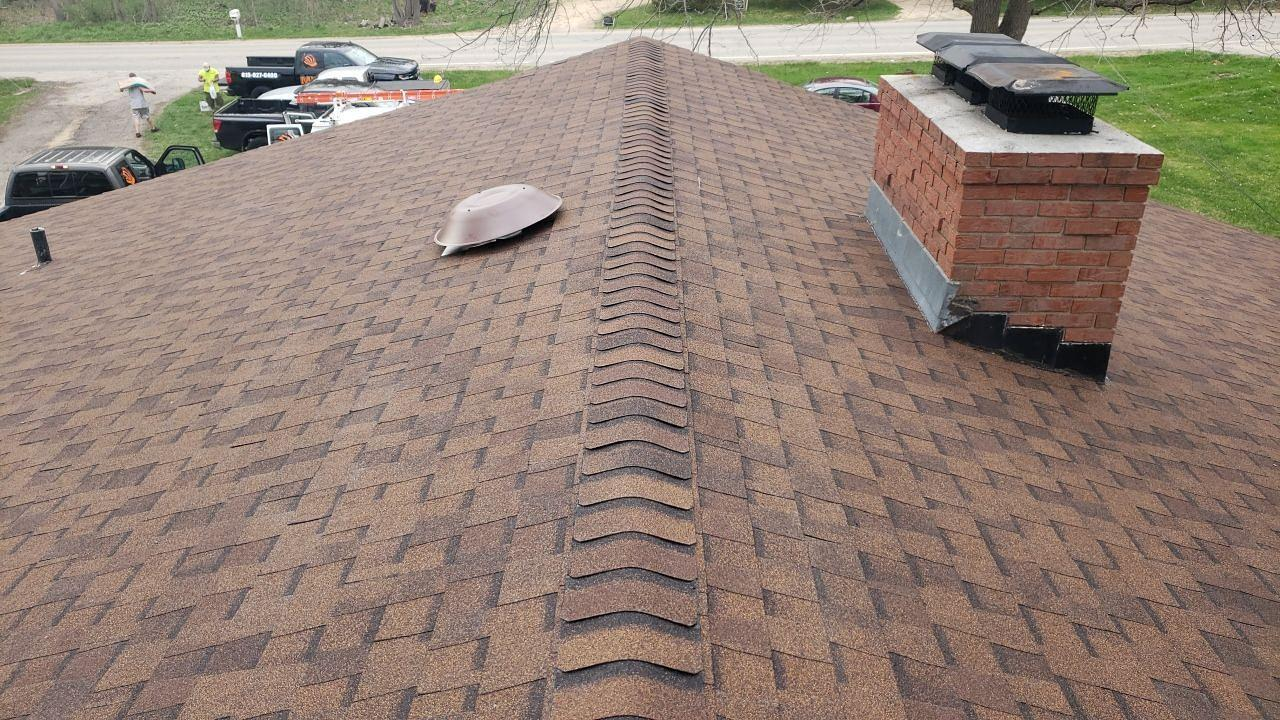 Two Layer Roof Replacement in Roscoe, IL - After Photo