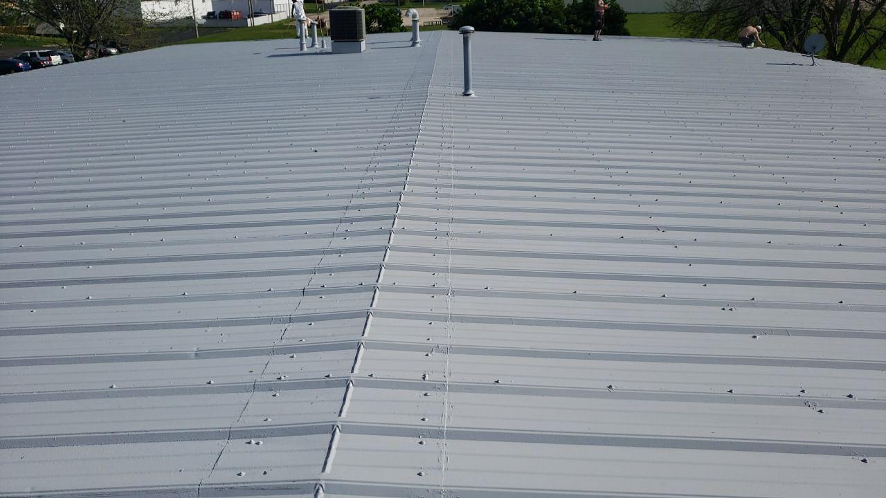 Commercial Roof in Rockford, IL - After Photo