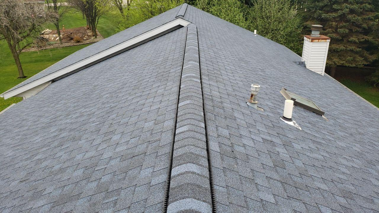 Atlantic Blue Roof Replacement in Roscoe, IL - After Photo