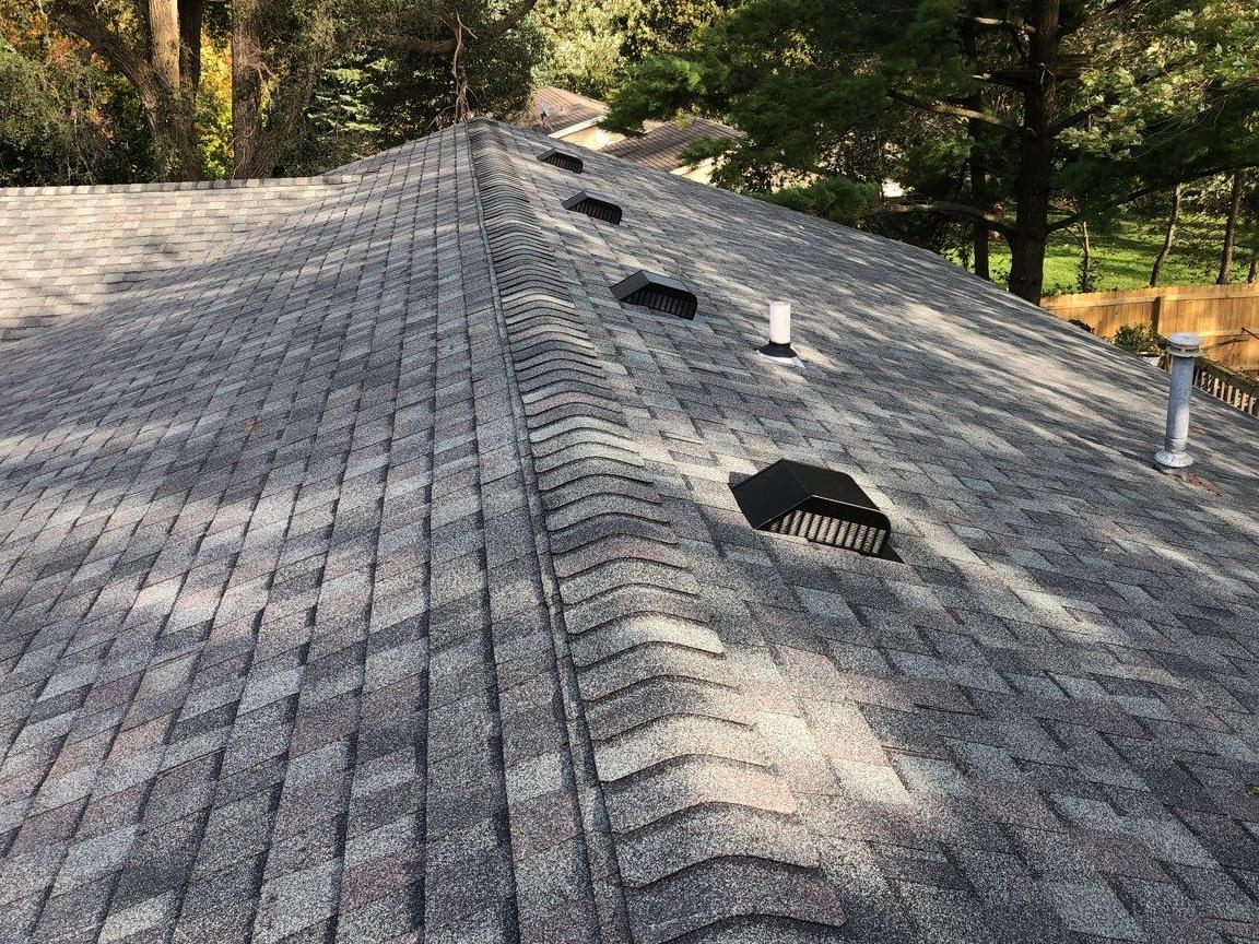 2 Layers of Roof Removed Colonial Slate in North Bloomfield, WI - After Photo