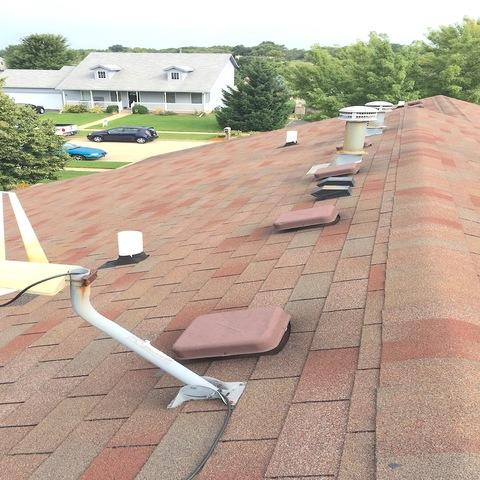 Belvidere, IL Roofing Replacement in Burnt Sienna