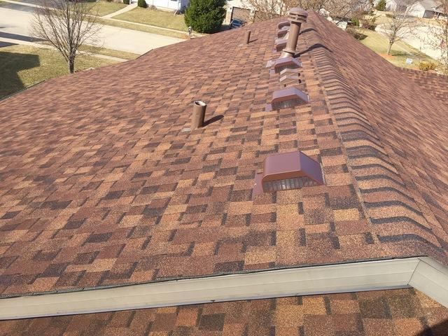 Belvidere, IL Roofing Replacement in Burnt Sienna - After Photo
