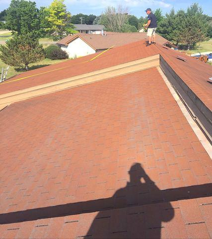 Roscoe, IL Roof Replacement - Before Photo