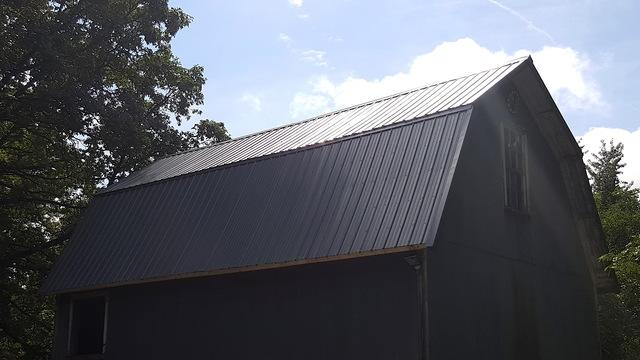 Metal Roof Replacement on Barn in Malta, IL