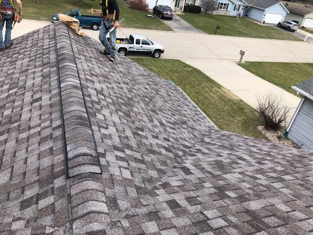 Aged Roof Replacement in Janesville, WI