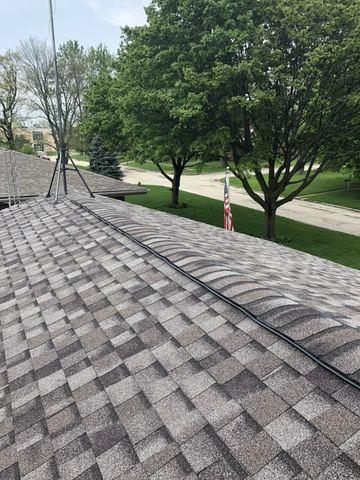 Shingle and Decking Replacement in Harvard, IL - After Photo