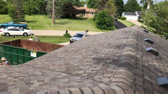 Hail Damage Roof Replacement in Antioch, IL - After Photo