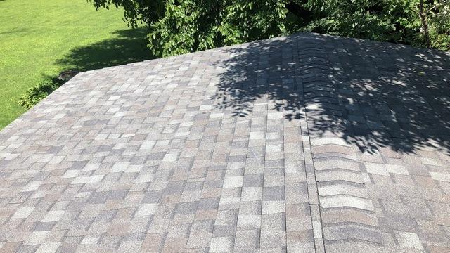 Two Layer Shingle Roof Replacement with Decking in Rockford, IL