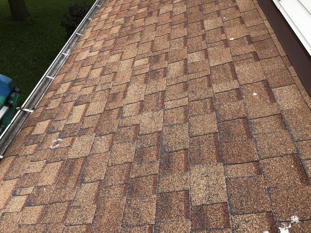 Roof Replacement in Johnsburg, IL - Before Photo