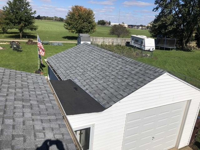 Roof and Breezeway Replacement in Belvidere, IL - After Photo
