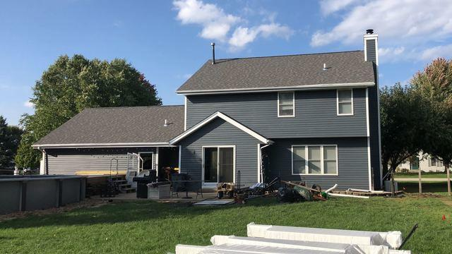 Natural Slate Siding in Machesney Park, IL