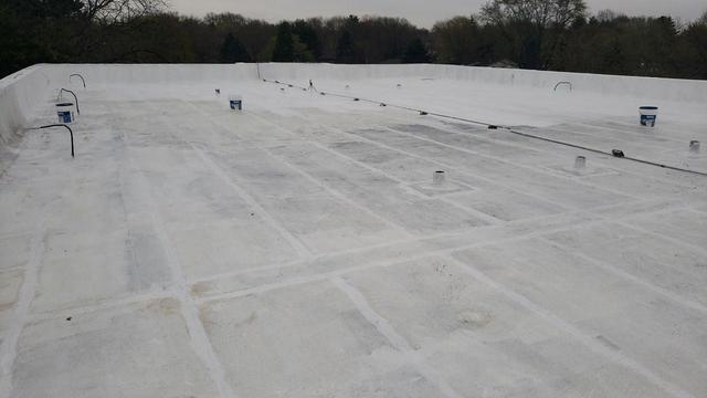 Flat Roof Coating in Rockford, IL