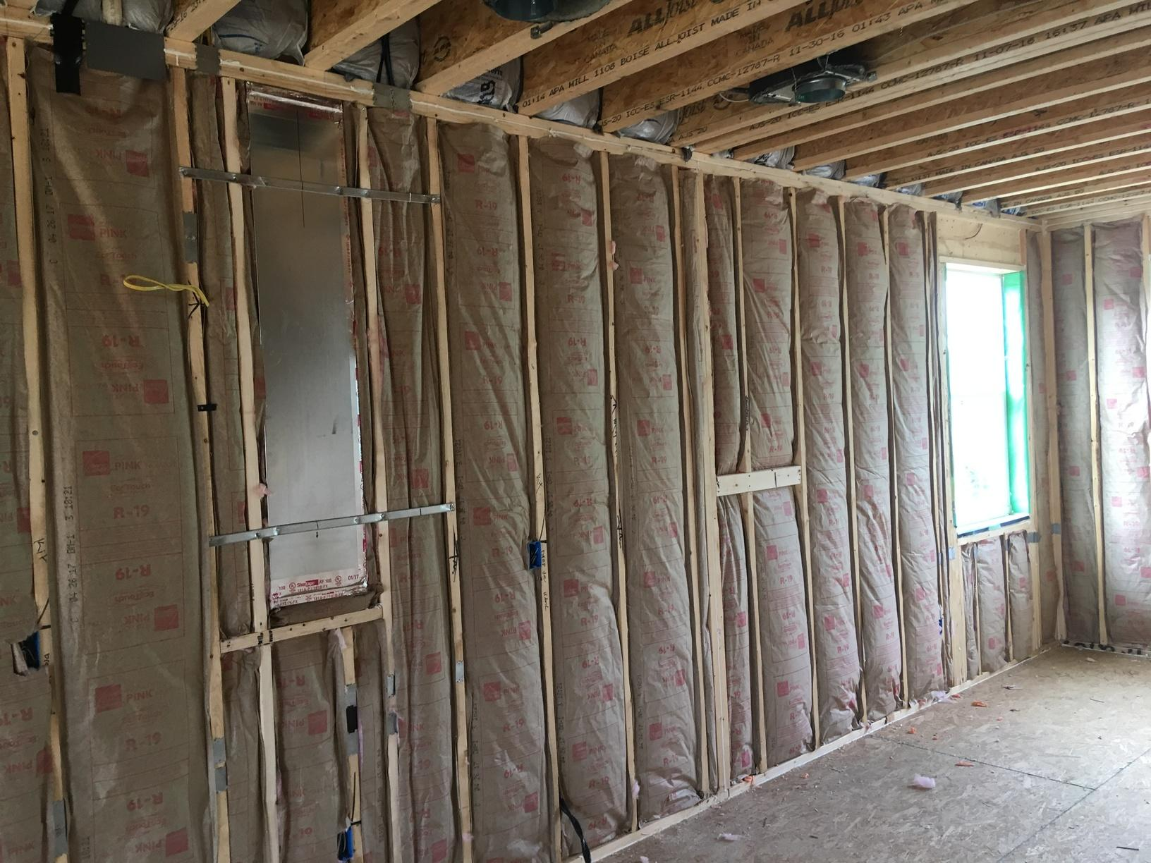 Fiberglass Batts Installed in New Monroe, NJ Home - After Photo