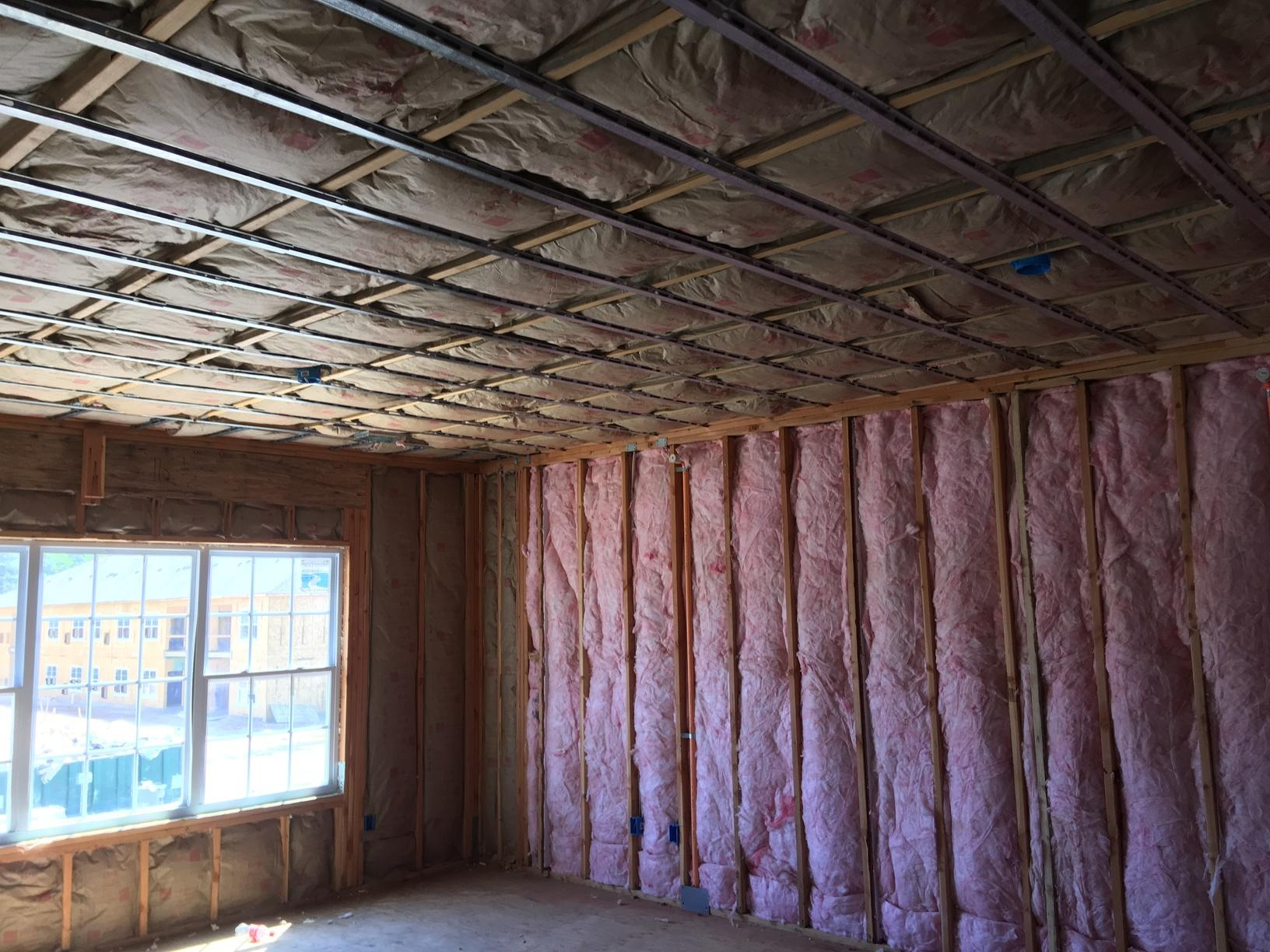 Newly Built Home Insulated in Jackson, NJ - After Photo