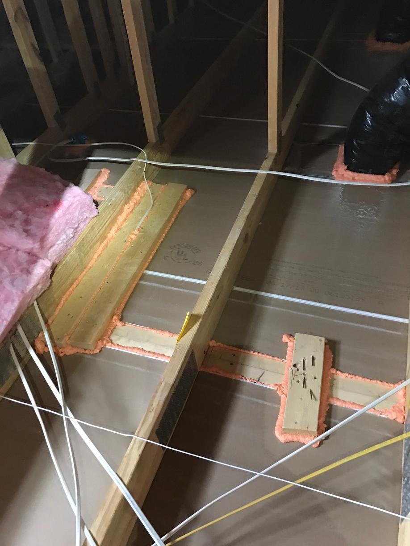 New Brunswick NJ Air Sealing and Insulation Work - Before Photo