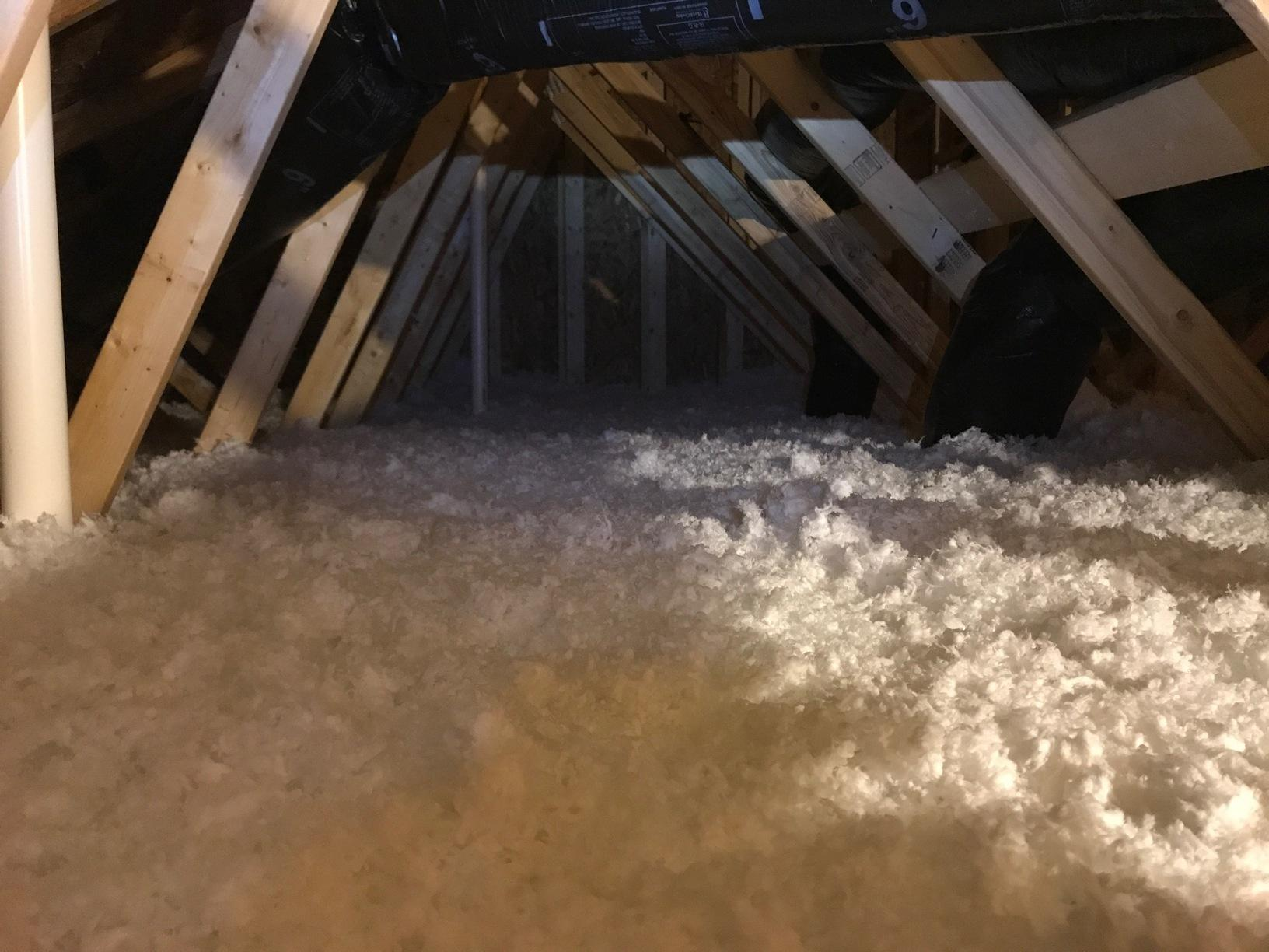 North Brunswick NJ Air Sealing and Insulation - After Photo