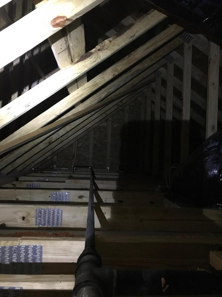 Wenonah, NJ Blown-In Insulation - Before Photo
