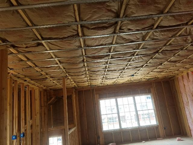 Fiberglass Batt Installation in Chatham Court - After Photo