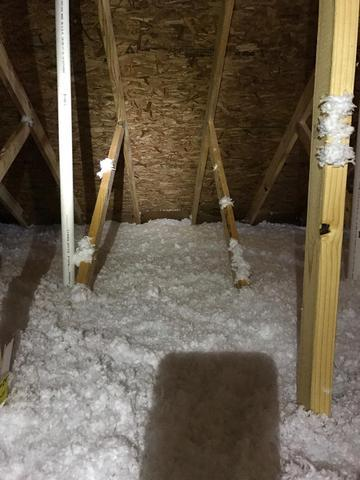 East Brunswick Before and After Insulation!! - After Photo