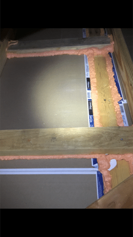 Before Insulation and after insulation Plainsboro NJ