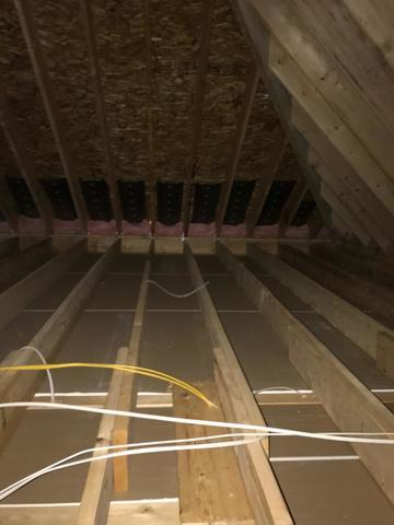 Plainsboro NJ Before and After Insulation