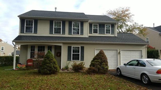 Siding Replacement and Stone Facade in Lansdale - Before Photo