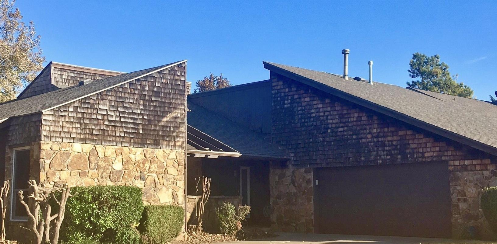 New Roof, Siding, & Gutters in Edmond - Before Photo
