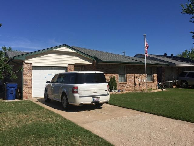 New Roof Installed in Mustang, Oklahoma