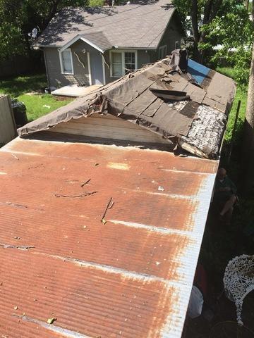 Oklahoma City, OK Garage re-roof