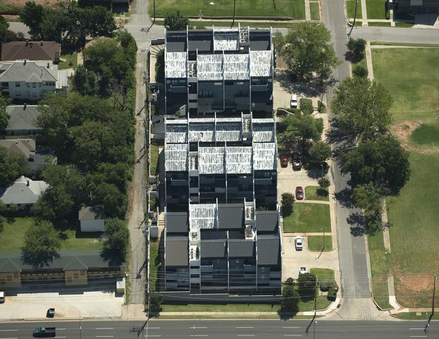 Commercial Job - Standing Seam Metal Roofs and TPO Roofs at Oklahoma City Condo Complex