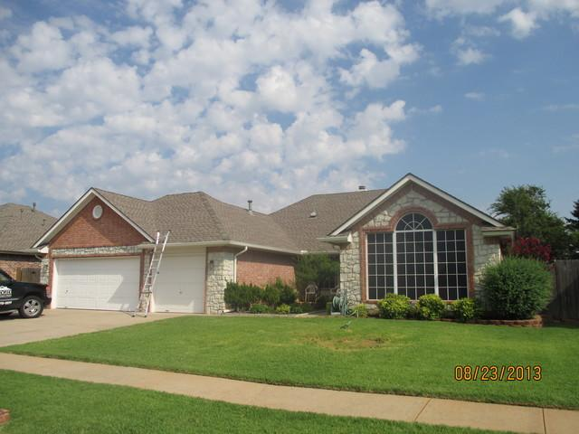 Residential Re-Roof Installation in Norman, OK