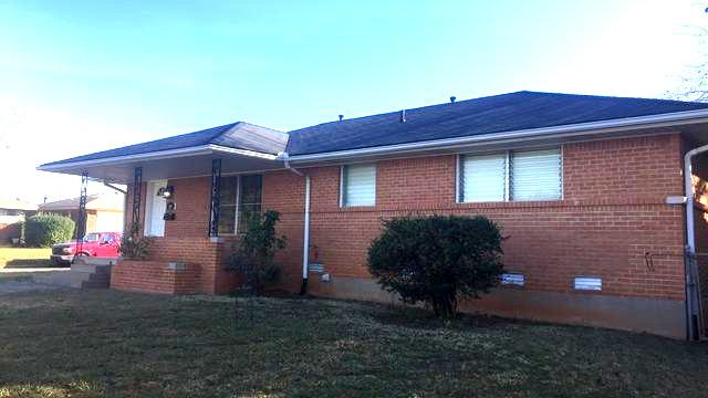 Re-roof, gutters, doors, trim in Midwest City