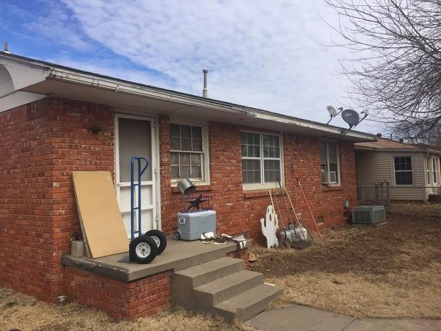 New Windows and Doors in OKC - Before Photo