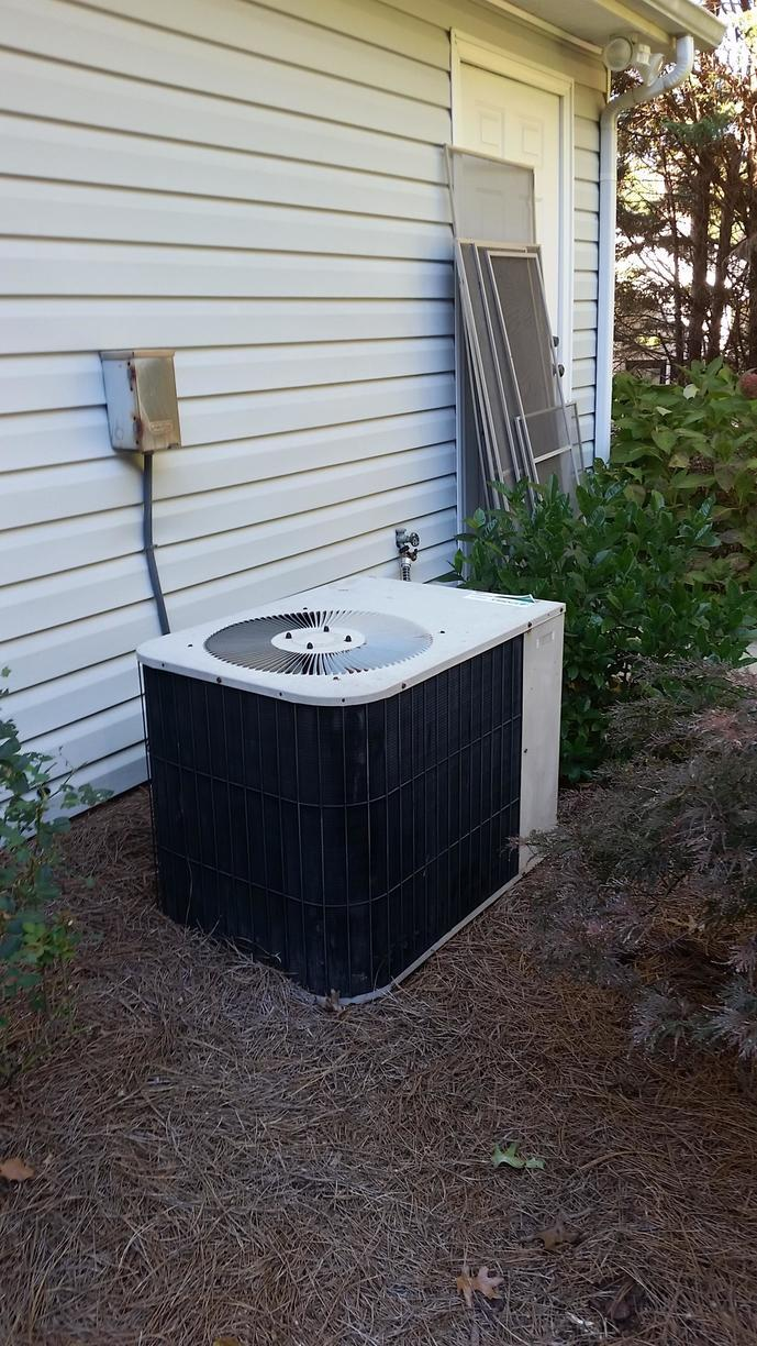 Air Conditioning Installation in Greensboro, NC - Before Photo