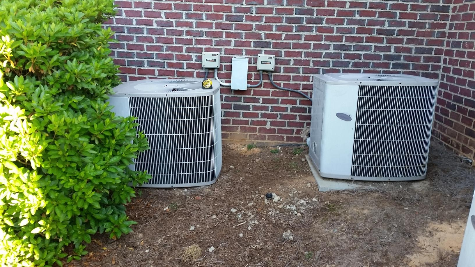 Air Conditioning Replacement in Clemmons, NC - Before Photo