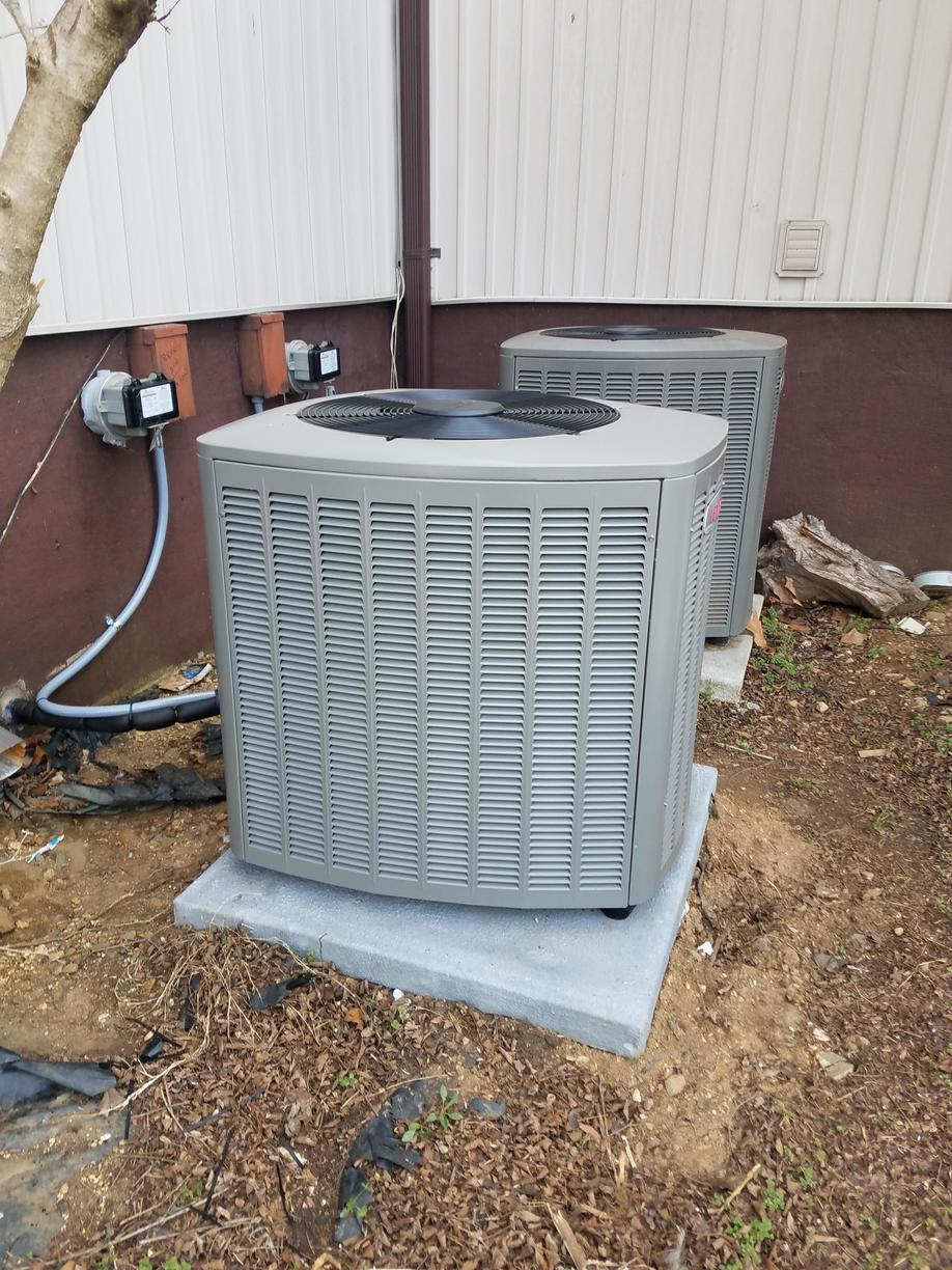 Heat Pump Replacement in Pfafftown, NC - After Photo