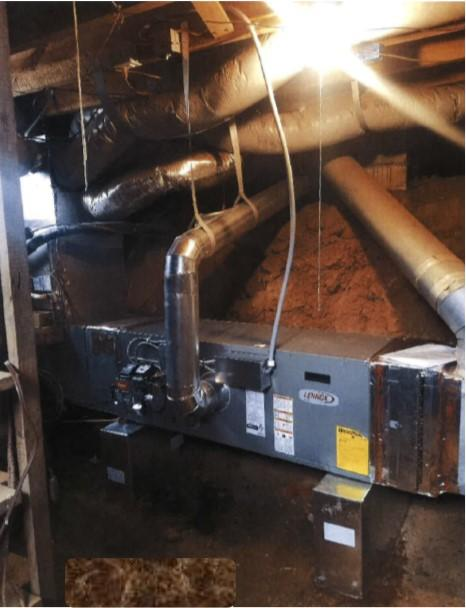 Oil Furnace Replacement in East Bend, NC - After Photo