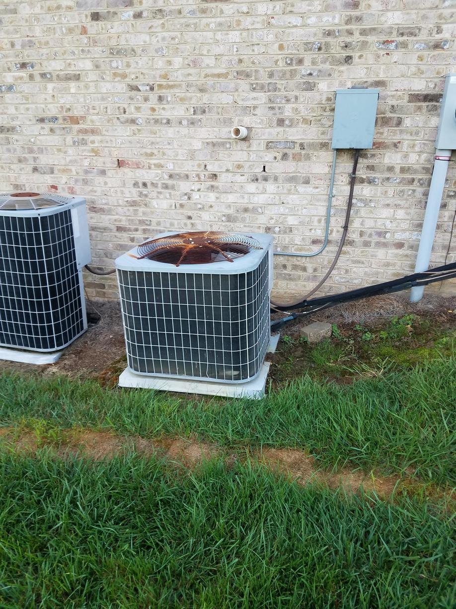 HVAC System Replacement in Pfafftown, NC - Before Photo