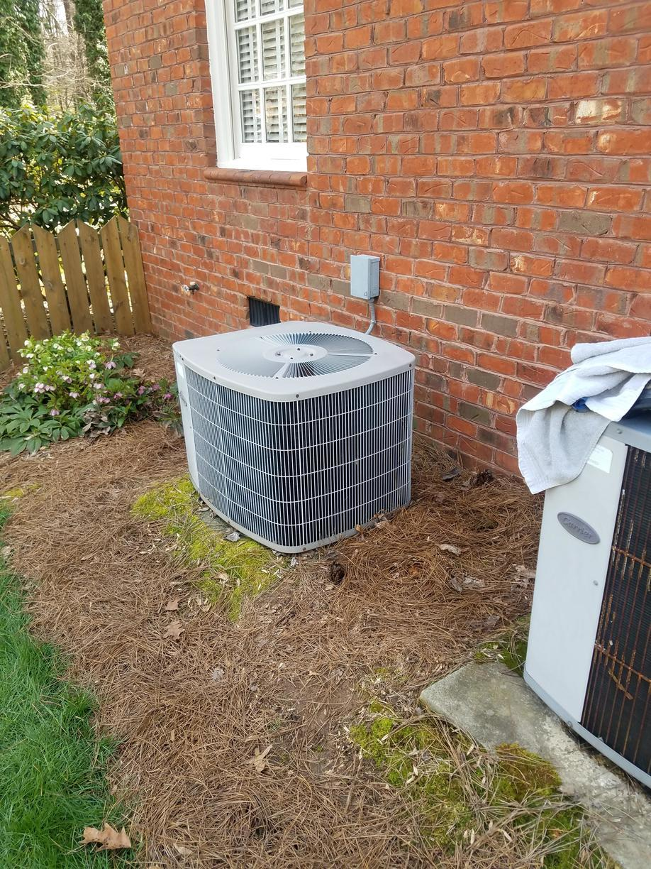 Newly Installed HVAC System in Kernersville, NC - Before Photo