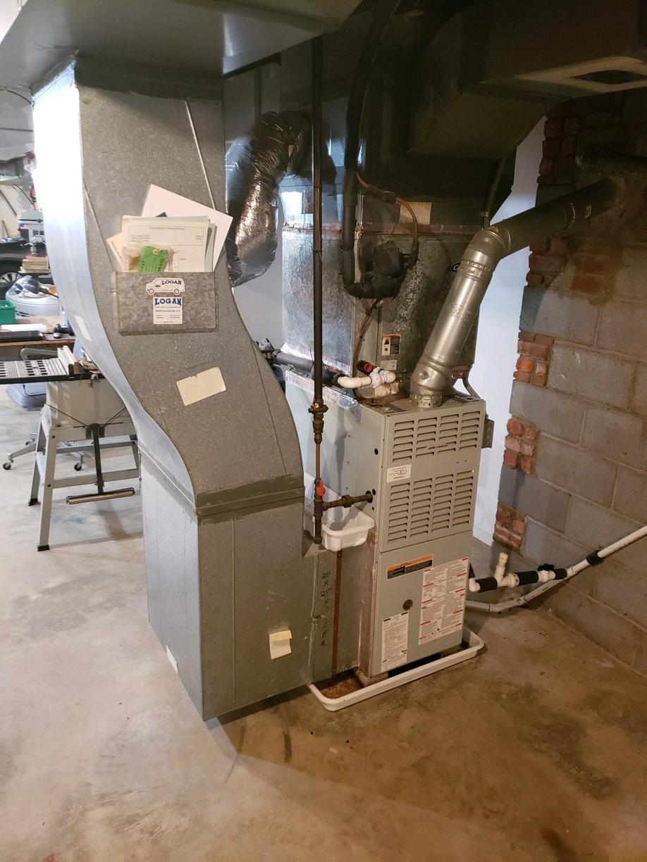 Furnace Replacement in Winston Salem, NC - Before Photo