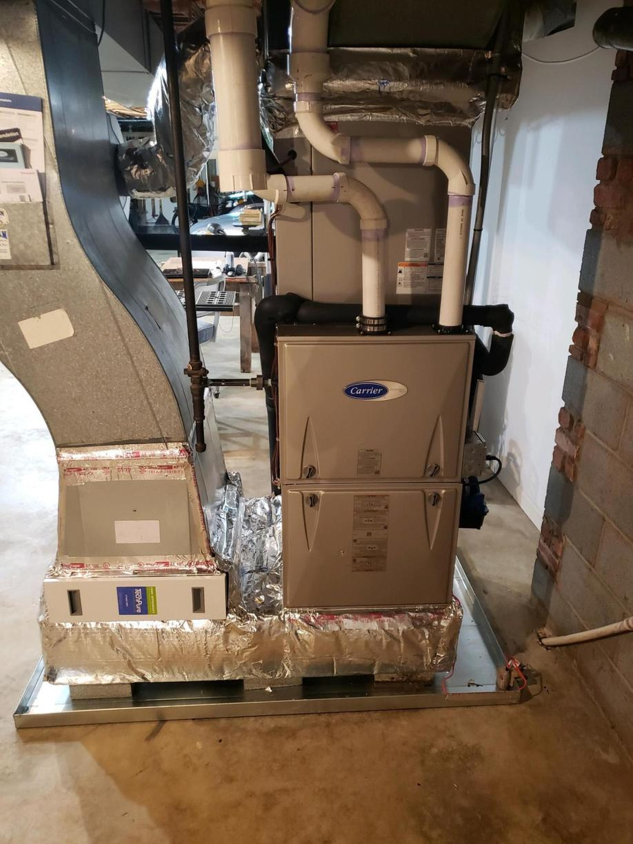 Furnace Replacement in Winston Salem, NC - After Photo