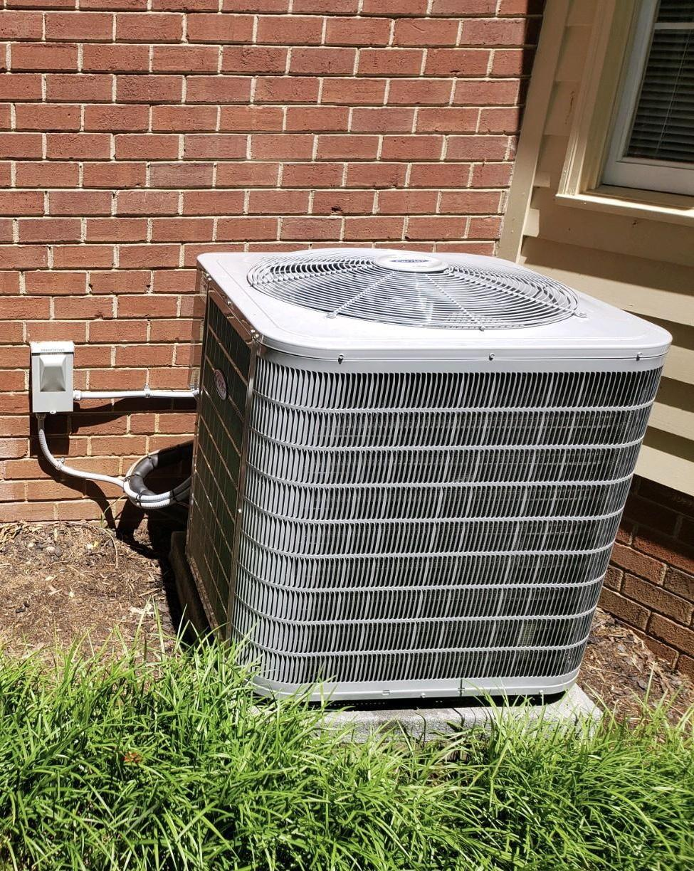 Carrier Air Conditioning Unit Install Winston Salem, NC - After Photo