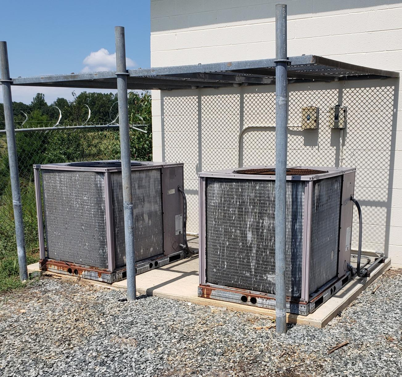 Commercial HVAC Install in Welcome, NC - Before Photo