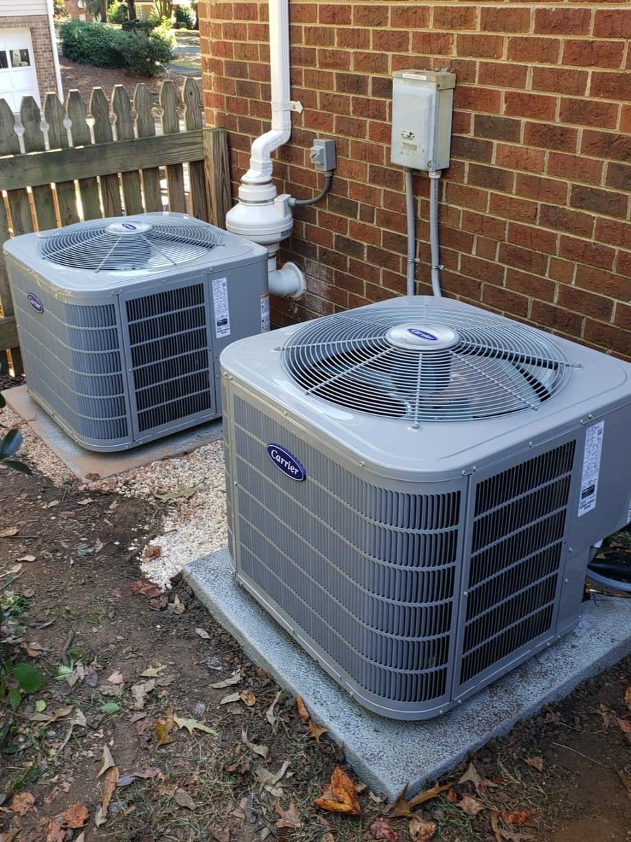 Heating and Air Conditioning System Replacement in Winston-Salem, NC - After Photo