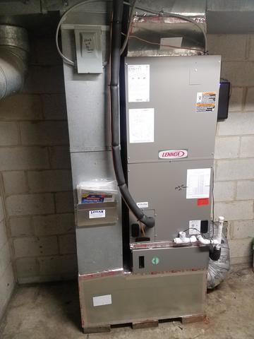 Heat Pump Install in Pfafftown, NC
