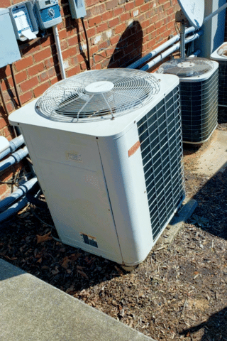 Heating and Air Conditioning System Replacement in Mooresville, NC - Before Photo