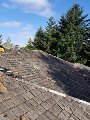 Shingle Roof Replacement in Happy Valley, OR - Before Photo